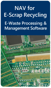 NAV E-Scrap Processing Software