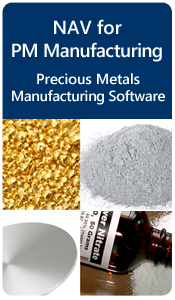 NAV Precious Metals Manufacturing Software