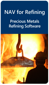 NAV Precious Metals Refining Software